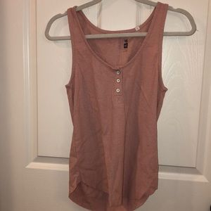 PacSun Me to We Pink Tank Top